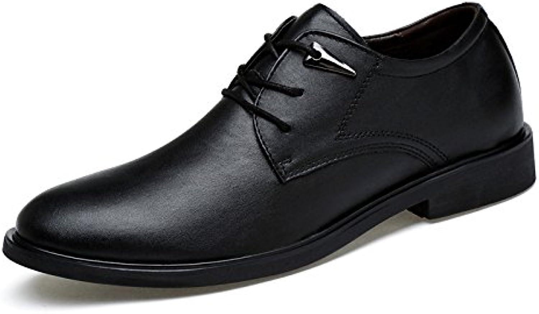 DHFUD Zapatos Casuales De Negocios para Hombres Zapatos De Vestir De Punta -