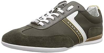 BOSS Green  Spacito 10182884 01, Sneakers Basses homme - Vert - Grün (dark green 301), 46 EU