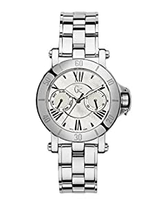 Guess Collection X74001L1S 40mm Silver Steel Bracelet & Case Anti-Reflective Sapphire Women's Watch