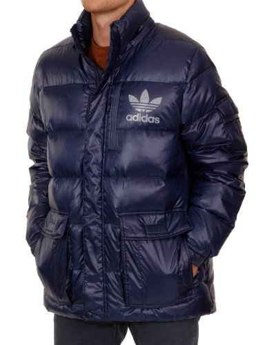 Adidas Originals AC - Piumino imbottito, Small, colore: Blu