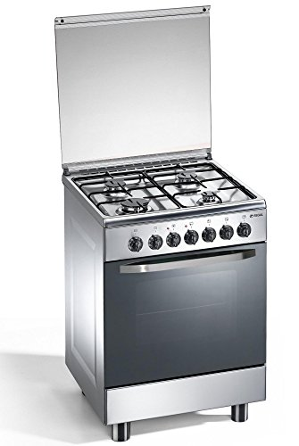 cuisinire-gaz-4-feux-inox-60x60x85-cm-avec-four-lectrique-regal-rc663xsn