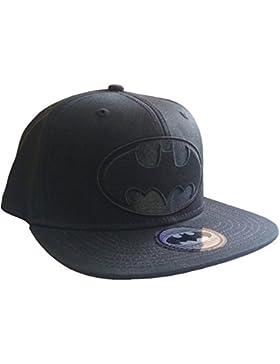 Batman Black Logo Cap Snapback DC Comics