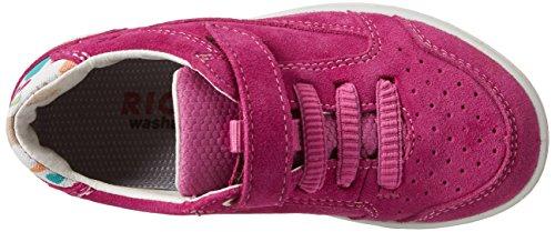 Ricosta Flo, chaussons d'intérieur fille Pink (Pop/Multi)