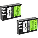 Lot de 2ayex® en EN-EL9a Batterie lithium-ion pour Nikon D40, D40x, D60, D3000, D5000