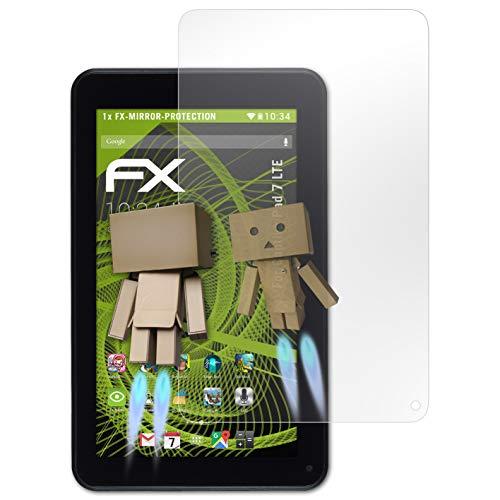 atFolix Bildschirmfolie für Captiva Pad 7 LTE Spiegelfolie, Spiegeleffekt FX Schutzfolie