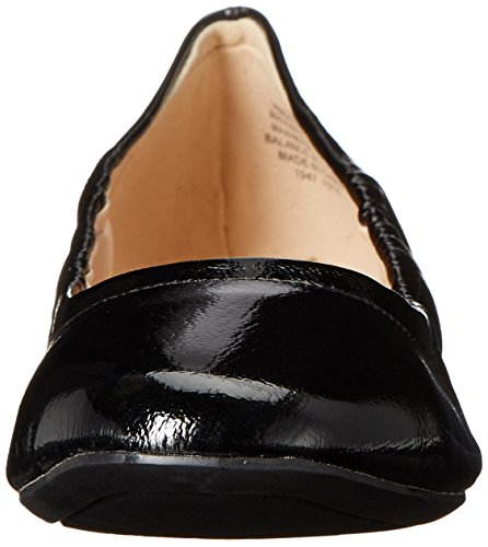Nine West Girlsnite Ballet Synthetic Flat Black Patent