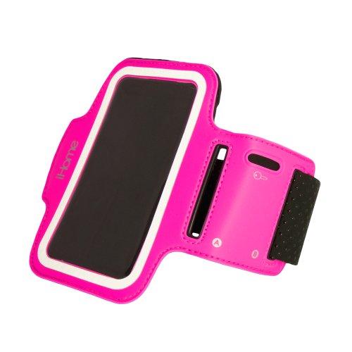 iHome Sportarmband für iPhone 4 / 4S / 5 und iPod Touch 4G / 5G, 1 Stück, Rose