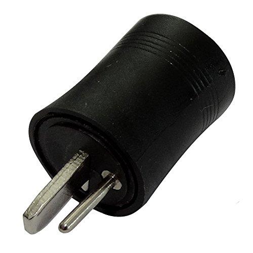 AERZETIX: 5x fiche connecteur DIN 2pins broches mâle pour enceintes haut-parleurs C19574