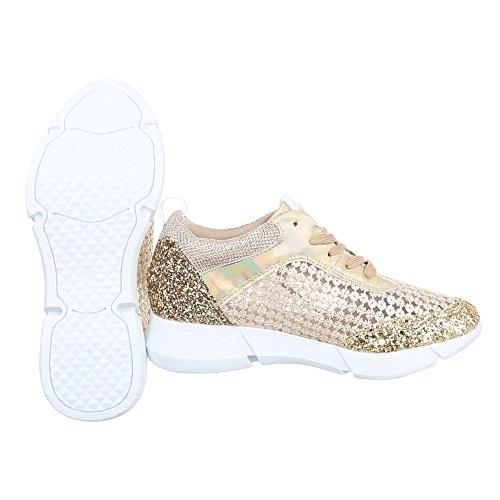 Ital-Design - Pantofole Donna Gold