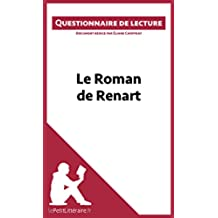 Le Roman de Renart: Questionnaire de lecture (French Edition)