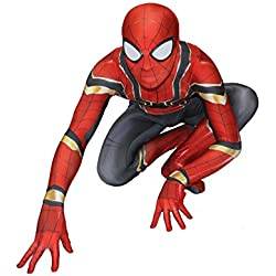Carswill Jeux de Simulation Spandex Adultes Complet Costumes Halloween Cosplay Superhero Outfit