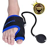 TENMAND Adjustable Orthopedic Bunion Corrector Splints Toe Straightener/R