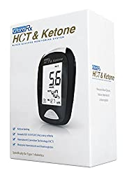 Gluco Rx Hct & Ketone Blood Glucose Monitoring System