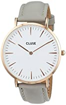 Cluse La Bohème Rose Gold White/Grey Damenuhr CL18015