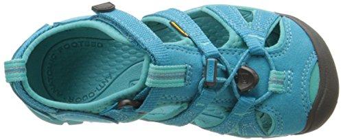 Keen Seacamp II CNX, Sandales de Randonnée mixte enfant Bleu (Baltic/Caribbean Seabaltic/Caribbean Sea)