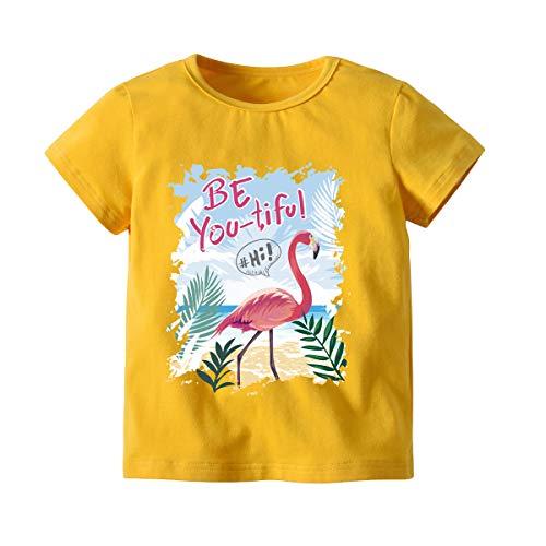 Big Boy Camiseta de Manga Corta de algodón de Manga Corta Ropa de Verano para niños Chaqueta...