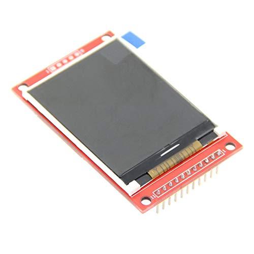 gfjfghfjfh 2,2-Zoll-TFT-SPI-serielle LCD-Auflösung 176 * 220 2,2-Zoll-LCD-Anzeige für Arduino 5V / 3,3V-Treiber-IC ILI9225 mit SD-Kartensteckplatz