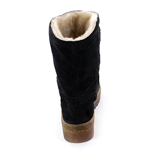 Gabor Furlined Boot Buck 53.743 Navy