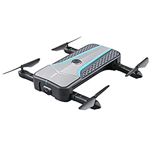 ZZH Drones with Camera 720P+Image recognition tracking fixed height + optical flow + follow + WIFI Quadcopter Drones for Kids Adults Beginners