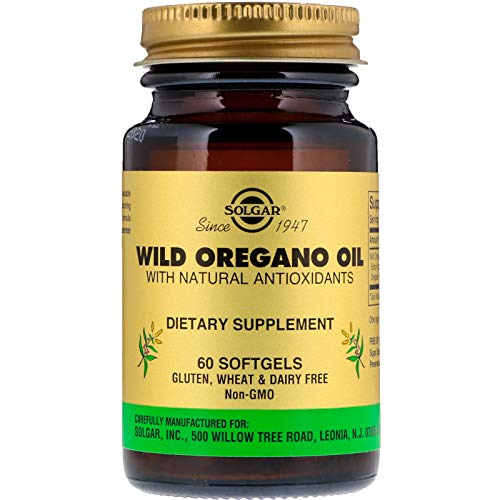 Solgar Aceite Orégano Silvestre Cápsulas blandas