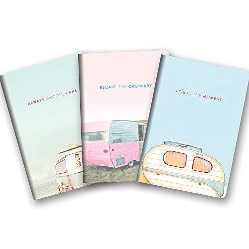 Studio Oh! Notizbuch Trio von 3 aufeinander abgestimmten Designs, erhältlich in 12 Bündeln, A Closer Look Live in the Moment