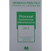 Memento Práctico Procesal Contencioso Administrativo 2013 (Mementos Practicos)