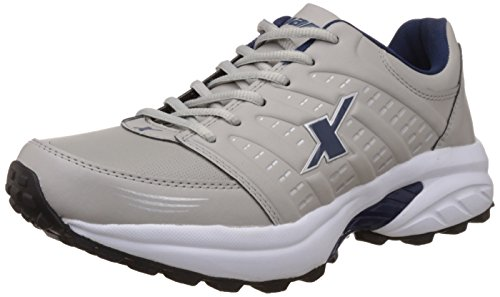 Sparx Men's Grey and Navy Blue Running Shoes -8 UK