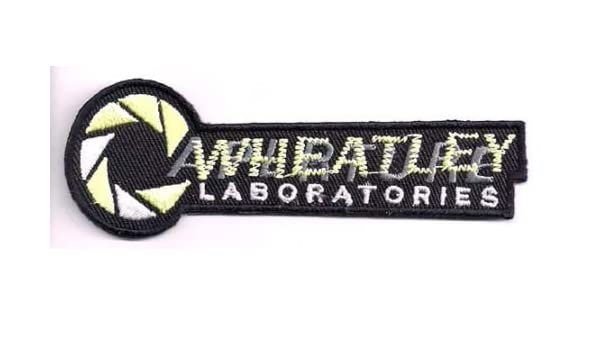 Aperture Laboratories Portal Iron On Sew On Embroidered Patch