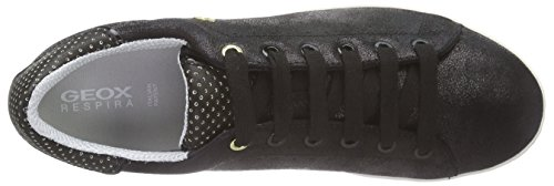 Geox D Jaysen A, Scarpe Low-Top Donna Nero (BLACK C9999)