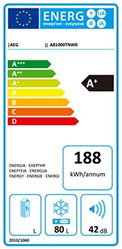 AEG ARCTIS A81000TNW0 Gefrierschrank / A+ / 186 kWh/Jahr / 80 Liter / No-Frost-Technik / Frostmatic / weiß - 2