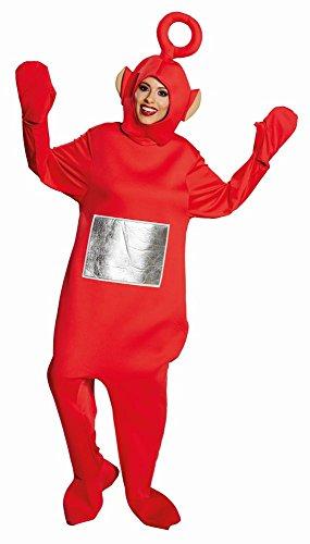 Teletubbies Unisex Kostüm Po zu Karneval Fasching