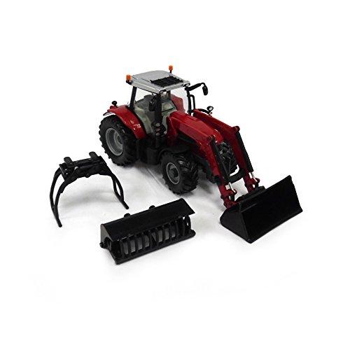 TOMY - 43082 - Tracteur - Massey Ferguson - 6616 - Échelle 1/32
