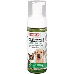 Zecken- & Flohschutz Schaum für Hunde & Katzen| Zeckenschutz ohne Baden | Für Hunde & Katzen ab 12 Wochen | Flohmittel als Schaum | 250ml Flasche