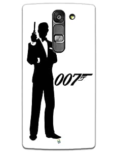 LG G4 MINI Cases & Covers - James Bond 007 Case by myPhoneMate - Designer Printed Hard Matte Case - Protects from Scratch and Bumps & Drops.