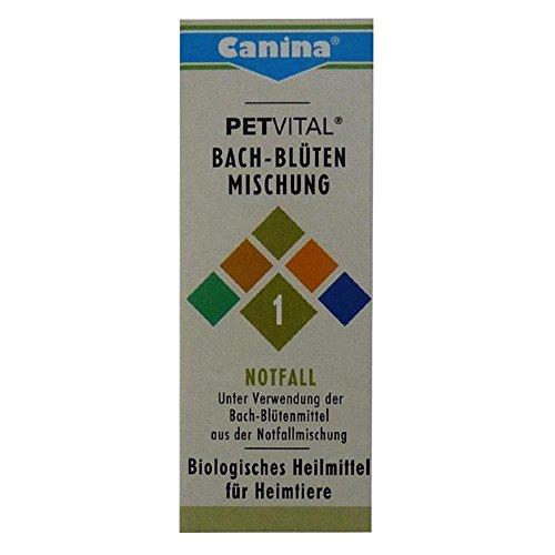 Canina Pharma Petvital Bachblüten Nr. 1 – Notfall 2 x 10g