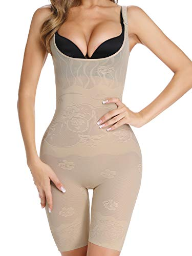 c09ed88a40a SLIMBELLE Mujer Fajas Body Control Modeladora De Cintura Tallador Reductora Shapewear  Abdomen Adelgazante Bodysuit Pecho Postparto