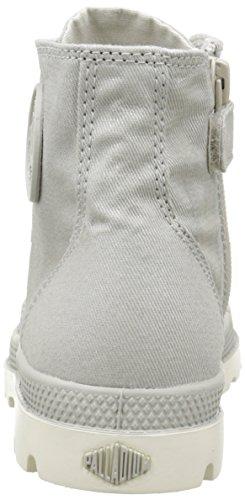 Palladium - Hi Zip Mtl K, Sneaker Unisex – Bambini Grigio (Gris (C32 Moonstruck/Marshmallow))
