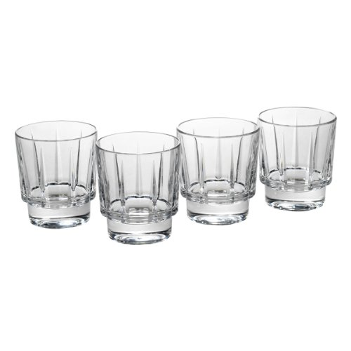 Reed & Barton Estate Crystal Double Old Fashion Glass, Set of 4 by Reed & Barton 4 Crystal Pilsners
