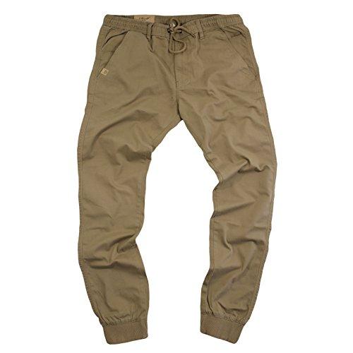 Reflex Hosen (Reell Jeans Herren Reflex Rib Pant Hose Dark Sand Long, Größe M)