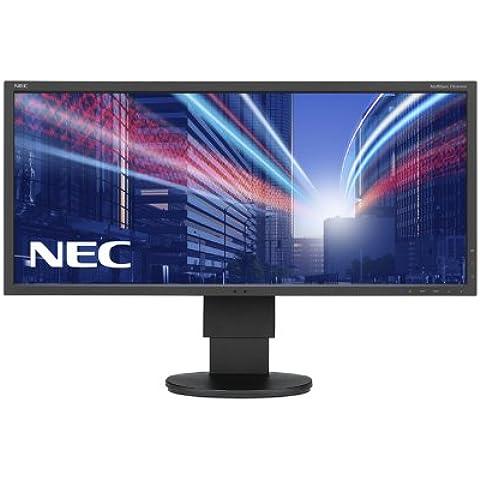 Nec Multisync EA294WMi-BK - Monitor TFT IPS con iluminación LED (74 cm (29 pulgadas), 2560x1080, 2 DVI-D, HDMI, USB), color