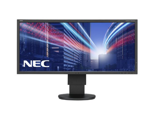 NEC MultiSync EA294WMi 29-Inch Widescreen LED Monitor - Black (21:9, 2560x1080, 1000:1, 6 ms, VGA/DVI-D/HDMI/MHL/DisplayPort) UK