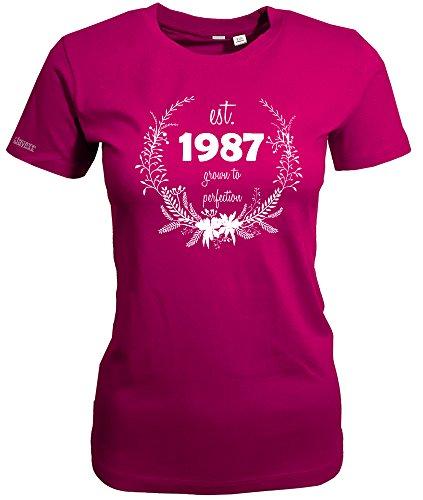 1987 GROWN TO PERFECTION - WOMEN T-SHIRT Sorbet