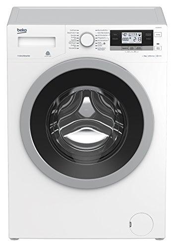 Beko WYA81493LE Waschmaschinen / A+++ / 1400 UpM / ProSmart Inverter Motor / Mengenautomatik / Weißes LC-Display / 16 Programme / ProSmart Inverter Motor  / StainExpert -  24 Arten von hartnäckigen Flecken entfernen / Watersafe+ / Aquawave-Schontrommel