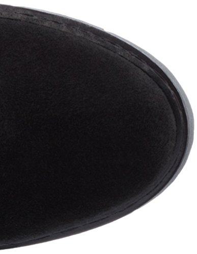 BIANCO - Longboots Mit Profil, Stivali Donna nero (nero)