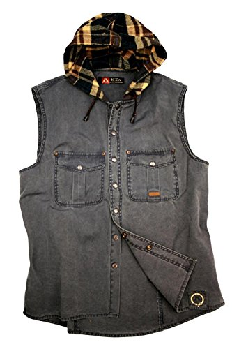 Kakadu Traders Outdoor Herrenhemd- Weste ROSTON