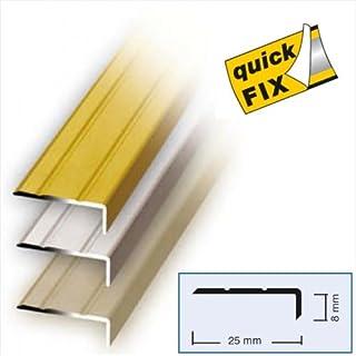 Winkelprofil Aluwinkel Profil 100 x 2,5 x 0,8 cm Alu silber