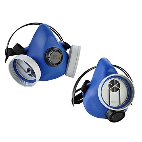 Respiratorische Maske Gummi Silikon. Lieferung ohne Filter. A CE.