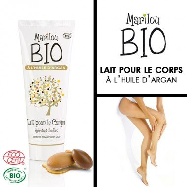 Marilou Bio Lait Corporel Argan Tube de 100 ml