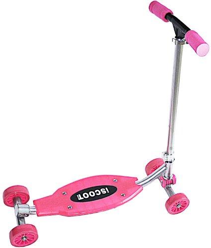 Pink iScoot Cross 4 X 4 Street Surfing Skateboard Wave / Surf Waveboard / Ripstik / Castor board Rockin Vigor Experience