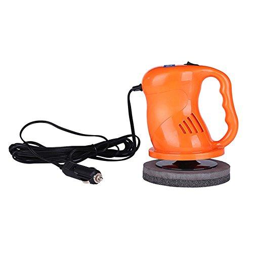 Preisvergleich Produktbild (Neue Version)KOBWA Auto-Waxing Poliermaschine (40W, Zigaretteneinfaßung, inkl. Umfangreiches Zubehör) - Orange
